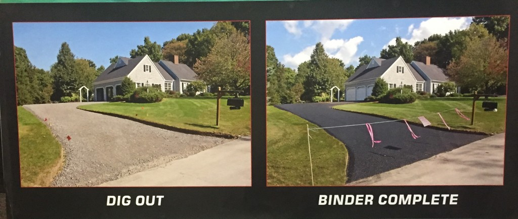 Dig out & Completion of Binder